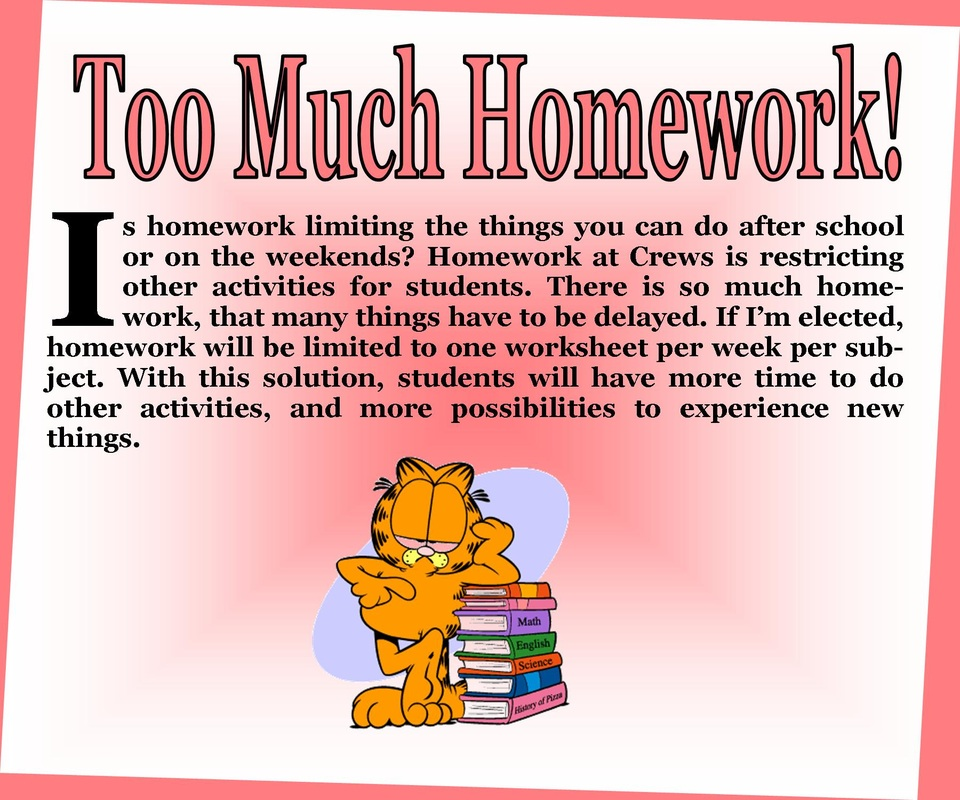 Do students have to much homework